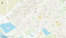 Site Centred 1:10,000 Streetview Map